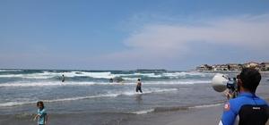 Kocaeli sahilleri cankurtaranlarla güvende