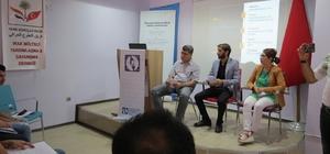 Afgan Mülteciler Derneği, Iraklı mülteciler için toplantı düzenledi