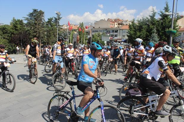 Festa 2200 Festivali'nin bisikletçileri Sultan Sazlığı'nda pedal çevirdi