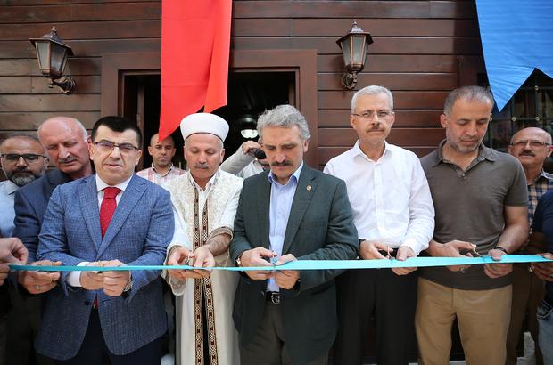 Restorasyonu tamamlanan İlyas Çelebi Camisi ibadete açıldı