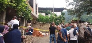Trabzon'da inşaattan düşen işçi hayatını kaybetti