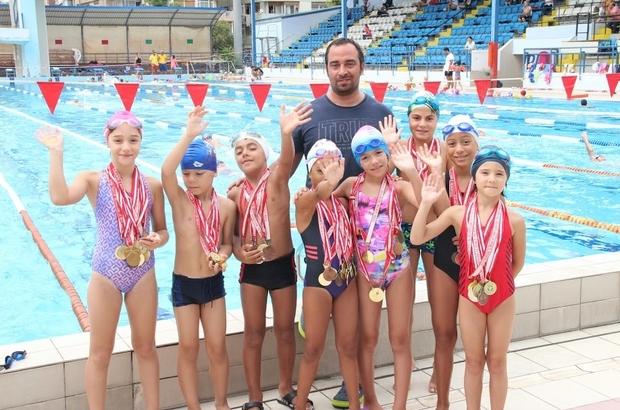 Geleceğin Olimpiyat sporcuları İzmir'de yetişiyor Yüzme branşına 'Altın Nesil' geliyor