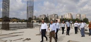 Vali Demirtaş, kamu kuruluşlarında incelemelerde bulundu