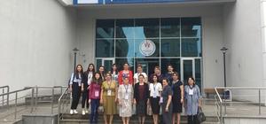 TDBB'nin Azerbaycanlı kadın yöneticileri Kocaeli'ne hayran kaldı