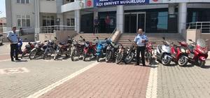 Kulu'da motosiklet denetimi