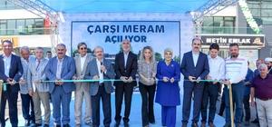 'Çarşı Meram' İş Merkezi törenle açıldı