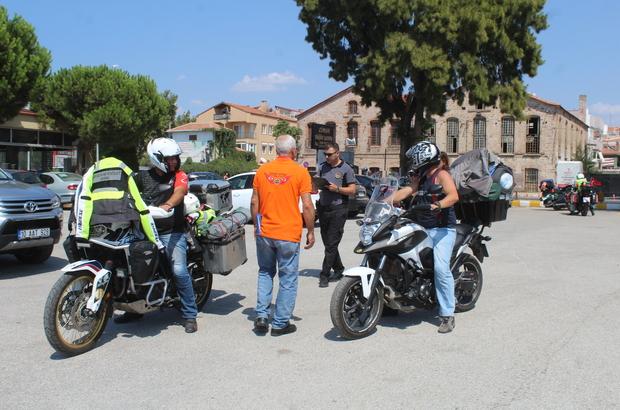 """""""EKMOK Motosiklet Festivalli"""" Midilli Adası'nda gerçekleştirilecek"""
