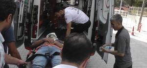 Kulu'da motosiklet kazası: 1 yaralı