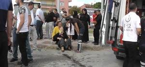 Konya'da iki otomobil çarpıştı: 9 yaralı