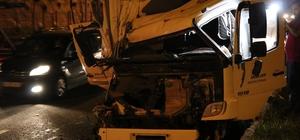 Bolu'da, trafik kazası: 1 yaralı