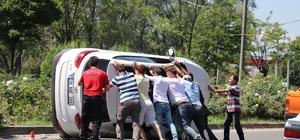 Bolu'da trafik kazası: 4 yaralı