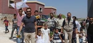 Suriyeli yetimlerin geleceği inşa ediliyor
