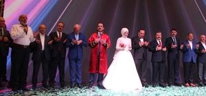 """Bakan Kurum ve Koca, Konya'da nikah merasimine katıldı Sağlık Bakanı Koca: """"Konya Şehir Hastanesini 2019 sonunda bitirmeyi hedefliyoruz"""""""