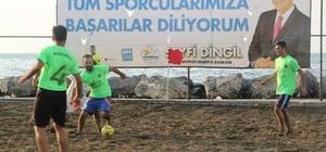 Plaj Futbolu İskenderun etabı başladı