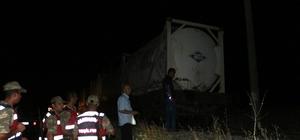 Trenin altında kalan şahıs ağır yaralandı