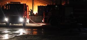 Hatay'da plastik kasa fabrikasında yangın