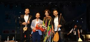 2. Neşet Ertaş Kültür ve Sanat Festivalinde müzik ziyafeti yaşandı