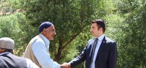 Kaymakam Karakurt'tan köy ziyaretleri
