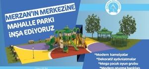 Hakkari Belediyesinden park yapımı