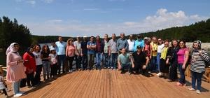 Başkan Çöl basın mensupları ile buluştu Sandıklı Belediye Başkanı Mustafa Çöl Afyon basını'nı Sandıklı'da misafir etti