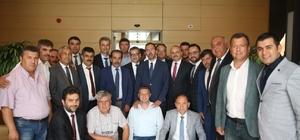 AK Parti'li Mersinli ve ilçe başkanlarından Ankara çıkarması