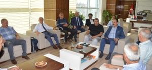 Keskin'den Ticaret Borsası Başkanı Özcan'a ziyaret