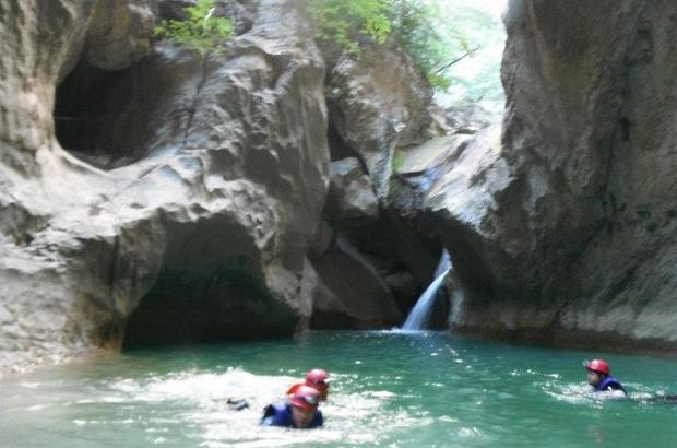 Kastamonu'da Valla Kanyonunda 4 kişi kayboldu