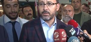 """Bakan Kasapoğlu, """"Bir Anadolu takımının kupayı alması bir başarı hikayesidir"""""""