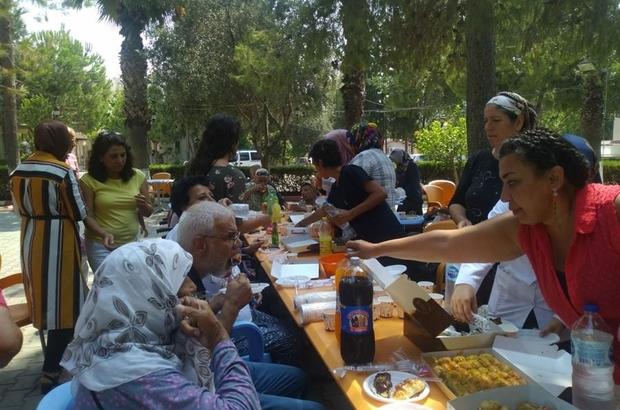 Huzurevi sakinleri çay saati etkinliğinde buluştu
