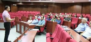 İzmit Belediyesi personeli eğitimleri sürüyor