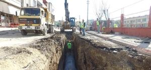 MESKİ, Akdeniz ilçesindeki yağmur suyu çalışmalarını tamamladı
