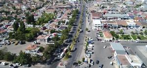 Nevşehir'de sıcak asfalt öncesi alt yapı çalışmalarına başlandı