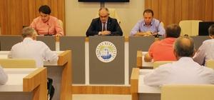 Yahyalı Belediyesi Ağustos ayı meclis toplantısını yaptı