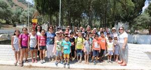 Efeler Belediyesi çocuklara Aydın tarihini tanıtıyor