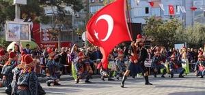 """Burhaniye Belediye Başkanı Necdet Uysal: """"Geldiğiniz toprakları, atalarınızın oyunlarını unutmayın"""""""