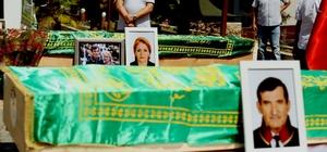 Kazada hayatını kaybeden Avukat Tuncay Yazıcıoğlu ve eşi için tören düzenledi