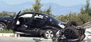 Söke'de trafik kazası: 4 yaralı