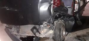 Benzin istasyonunda kaza: 2 yaralı