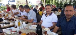 Tekirdağ'daki Malatyalılar kahvaltıda bir araya geldi