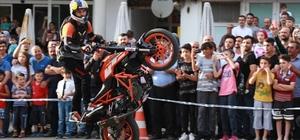 Tokat'ta motosiklet festivali nefesleri kesti