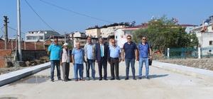 Nazilli Aydoğdu Köprüsü 17 günde tamamlandı