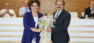 Sağlık Bakan Yardımcısı Prof. Dr. Emine Alp Meşe, Rektörlükte Üniversite İdarecileri ile Vedalaştı