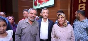 Belediye Başkanı Tahmazoğlu Halk Gününde vatandaşlar bir araya geldi