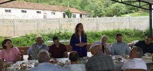 Düzce Üniversitesi Akçakoca'nın Davutağa köyüne konuk oldu