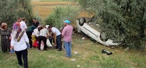 Afyonkarahisar'da trafik kazası: 2'si çocuk 4 yaralı