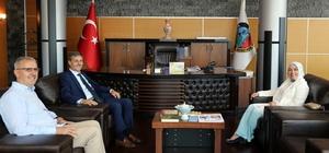 Milletvekili Atabek'ten, Başkan Alemdar'a ziyaret