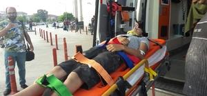Çivi toplarken asansör boşluğuna düşen çocuk ağır yaralandı