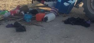 Sivas'ta traktör devrildi: 10 yaralı