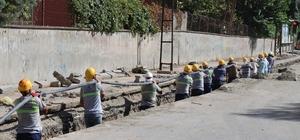 Dicle Elektrik, Fatih Mahallesi'nin çehresini güzelleştiriyor