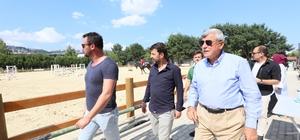"""Başkan Karaosmanoğlu:""""Kocaeli'de Atlı spor şahlanacak"""""""